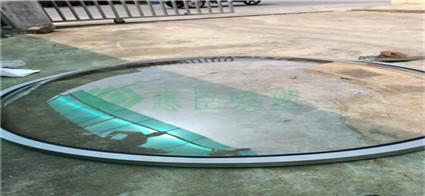 透明圆形采光罩